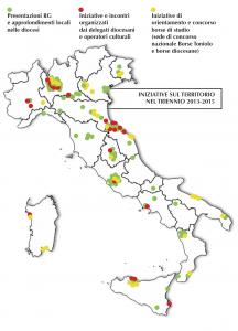 piantina Italia iniziative